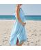 Lehké letní plážové těhotenské šaty