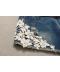 Těhotenské džínové kraťasy s bílou krajkou