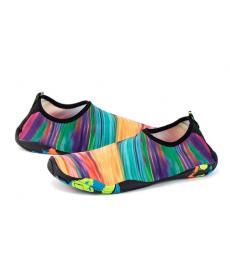 Strakaté plavací boty