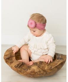 Dívčí čelenka s turbanem