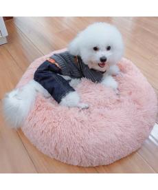 Oválný chlupatý pelíšek pro kočku