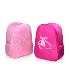 Růžový dívčí batoh na balet či gymnastiku