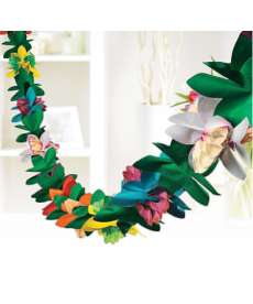 Papírová girlanda - hawai
