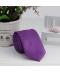 Pánská jednobarevná slim kravata