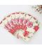 Okrasné dekorační papírové ubrousky - květy