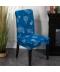 Vzorované elastické potahy na židle