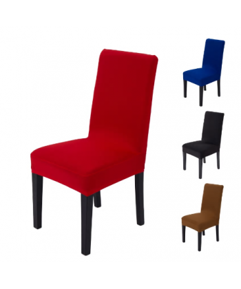 Jednobarevný elastický potah na židli