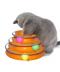 Zábavná hračka pro kočku s balónky