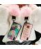 Kryt na Iphone 11 s poutkem a třpytivým popsocketem