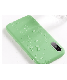 Jednobarevný silikonový pastelový kryt na Iphone X