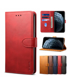 Kožený magnetický flip kryt pro telefon Iphone 11