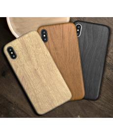 Silikonový kryt v designu dřeva pro Iphone 11