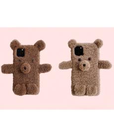Plyšový kryt medvěd pro Iphone 11