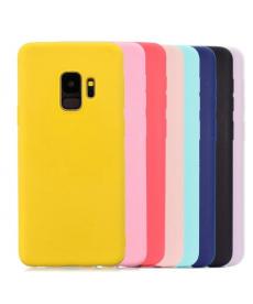 Barevný silikonový kryt na Samsung Galaxy S9