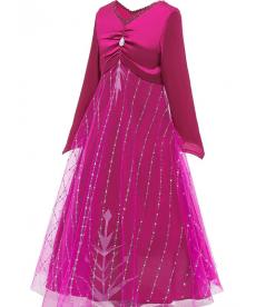 Kostým Frozen vínový
