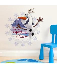 3D samolepka - sněhulák Olaf