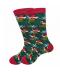 Zimní teplé ponožky Grinch