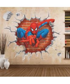 Nálepka na zeď Spiderman