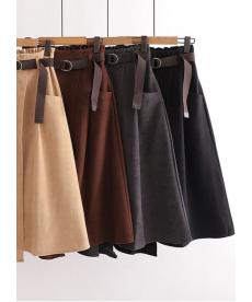 Asymetrická dámská dlouhá sukně