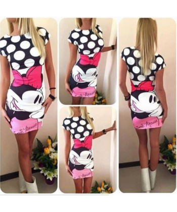 Dámské přiléhavé minišaty Mickey mouse 40a4b85d46