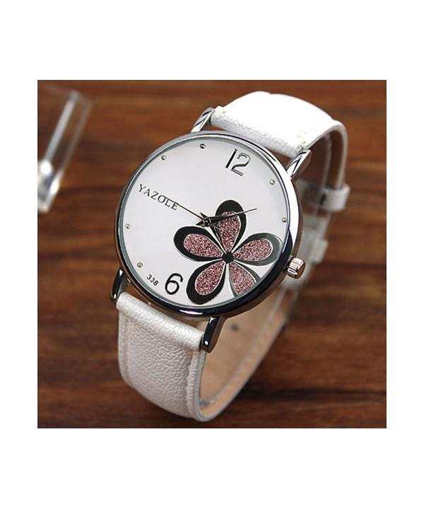 Dámské elegantní hodinky s květinou · Dámské elegantní hodinky s květinou  ... 989b7252512