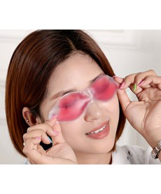 Gelová oční maska - růžová