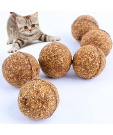 Přírodní míč pro kočky