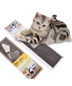 Kočičí škrábadlo z vlnitého papíru