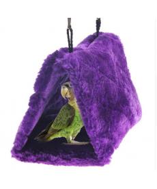 "Plyšové ""hnízdo"" pro ptáky"