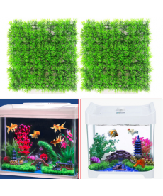 Zelená tráva do akvária