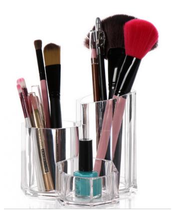 Akrylový stojánek na kosmetiku
