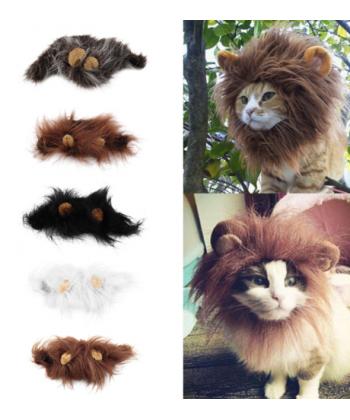 Imitace lví hřívy pro kočky