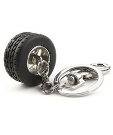 Přívěsek - závodní pneumatika
