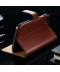 Kožený flipový obal pro iPhone 7