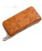 Dámská kožená květinová peněženka