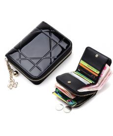 Dámská kožená peněženka na zip