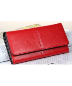 Jednoduchá kožená peněženka
