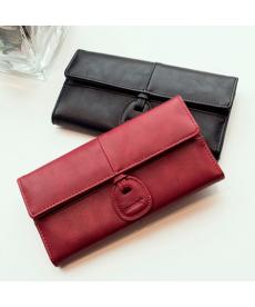 Elegantní dámská dlouhá peněženka z jemné kůže