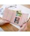 Peněženka pro dámy s ozdobným kruhem více barev