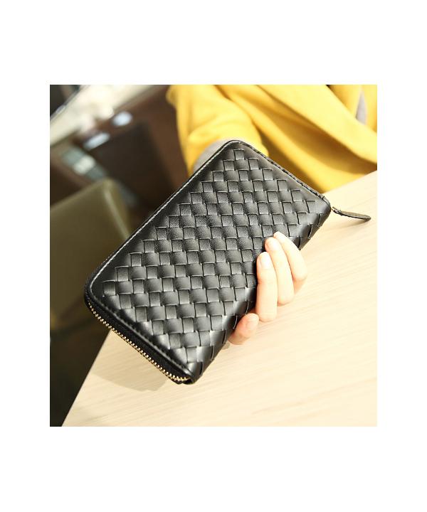 Textilní dámská peněženka na zip ced986d71b