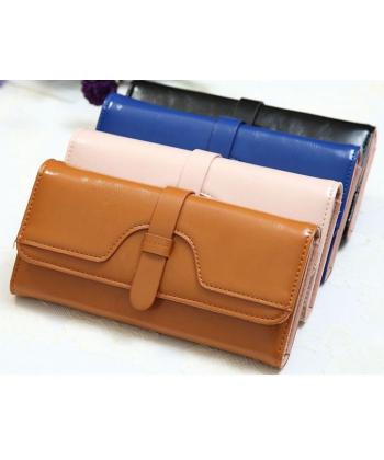 Retro kožená peněženka