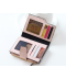 Kožená propletená peněženka