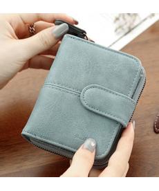 Kožená jemná peněženka