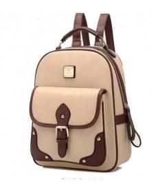 Dámský elegantní batoh z umělé kůže