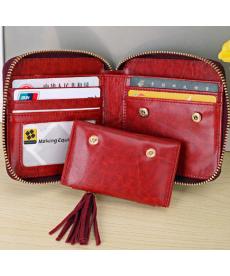 Rozkládací peněženka dvou barev
