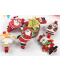 Dřevěné kolíčky s vánočním motivem