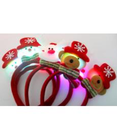 Vánoční dekorativní čelenky