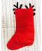 Vánoční punčocha - sob nebo Santa Claus