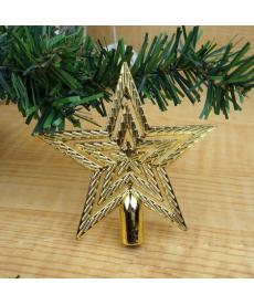 Vánoční zlatá hvězda