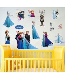 Dětská samolepka - Ledové království